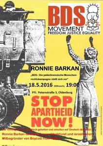 160518_Ronnie Barkan in Oldenburg
