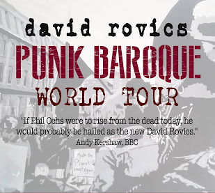 David Rovics Punk Baroque World Tour