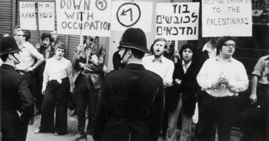 Berlin: Do 17.08. Vortrag und Diskussion: Von Matzpen zu der Boykottbewegung