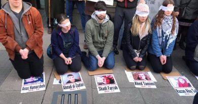 Palästinensische Gefangene: Ein Schlachtfeld für internationale Solidarität