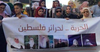 Palästinensische weibliche Gefangene setzen geplanten Hungerstreik aus; 10 palästinensische Männer streiken gegen die Inhaftierung